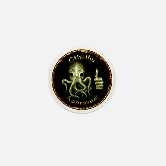 Cthu_approved_horizontal Mini Button