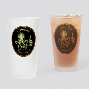 Cthu_approved_horizontal Drinking Glass