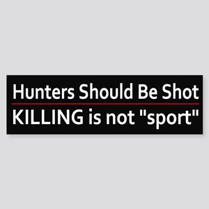 Cold-Blooded Killers Bumper Sticker