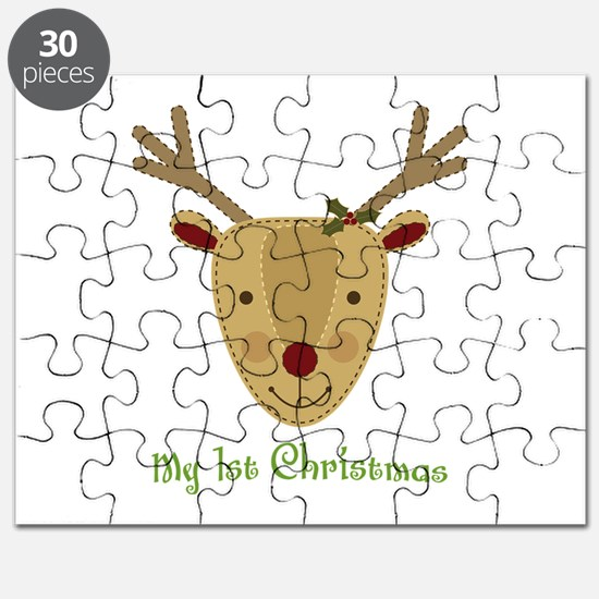 1st Christmas Reindeer Puzzle