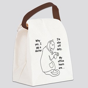 amdocofficehours Canvas Lunch Bag