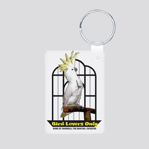 BirdLoversOnly LOGO Aluminum Photo Keychain