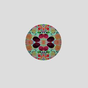 Floral Delightz 4 Mini Button