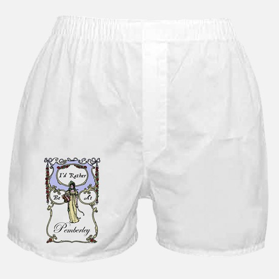 Rather Be At Pemberley Boxer Shorts