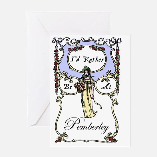 Rather Be At Pemberley Greeting Card