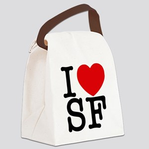 sf_v Canvas Lunch Bag