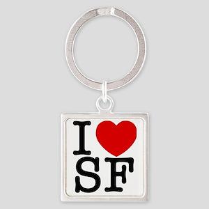 sf_v Square Keychain