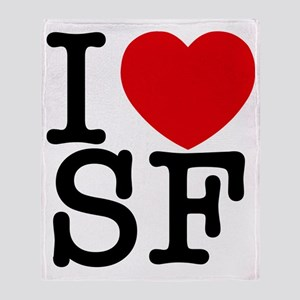 sf_v Throw Blanket