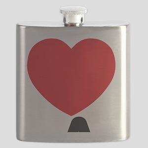 I Love LA Flask
