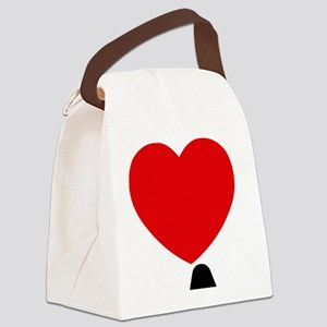 I Love LA Canvas Lunch Bag