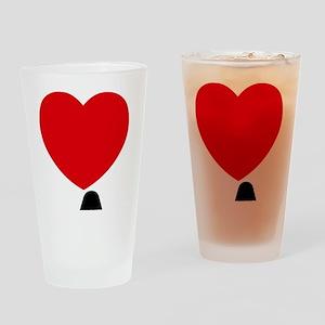I Love LA Drinking Glass