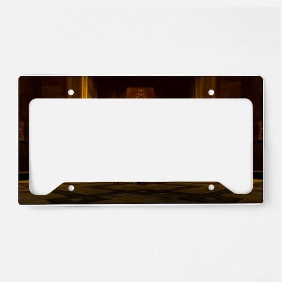 threeamigos_wow License Plate Holder
