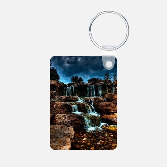 journal_waterfalls Keychains