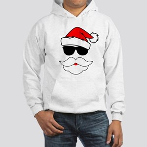 Cool Santa Claus Hooded Sweatshirt