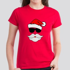 Cool Santa Claus Women's Dark T-Shirt
