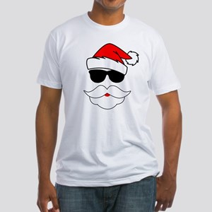 Cool Santa Claus Fitted T-Shirt
