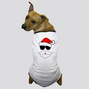 Cool Santa Claus Dog T-Shirt