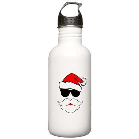Cool Santa Claus Stainless Water Bottle 1.0L