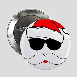 """Cool Santa Claus 2.25"""" Button"""