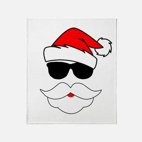 Cool Santa Claus Throw Blanket
