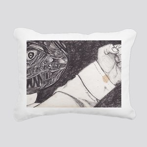 HIL Rectangular Canvas Pillow
