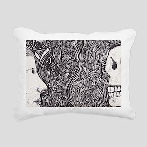 life_n_death Rectangular Canvas Pillow