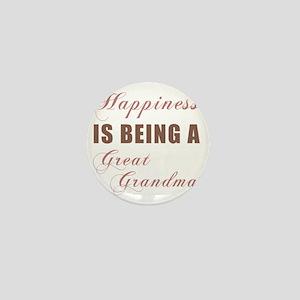 Happiness_GreatGrandma Mini Button