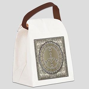 elegant peace 10x10 Canvas Lunch Bag