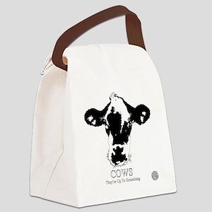 Suspicious Cows Canvas Lunch Bag