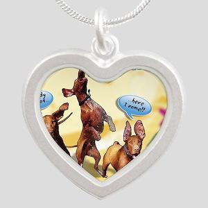 Cartoon_1_Cover Silver Heart Necklace