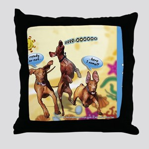 Cartoon_1_Cover Throw Pillow