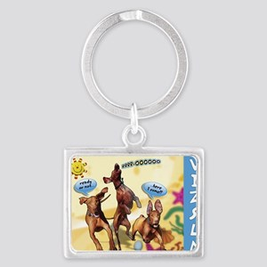 Cartoon_1_Cover Landscape Keychain
