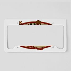 SkiNH Oval License Plate Holder