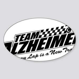 Team Alzheimer Sticker (Oval)