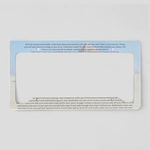 meditation7 License Plate Holder