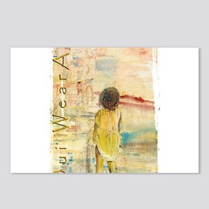 Girl in Yellow Postcards (Package of 8)