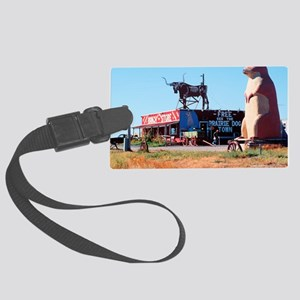 Prarie Dog Store Large Luggage Tag