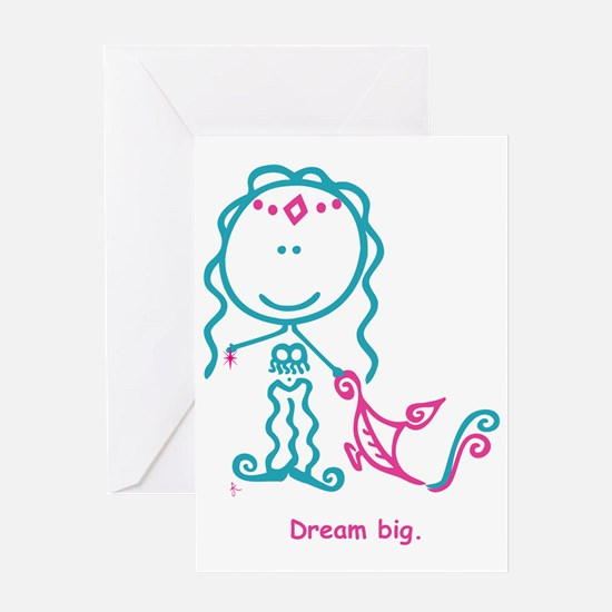 GENIE-Standing-text Greeting Card