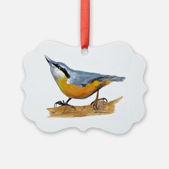 simon nuthatch Ornament