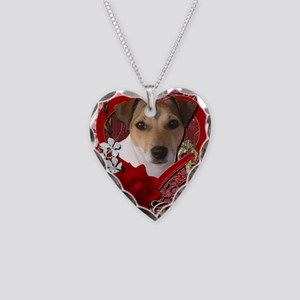 Valentine_Red_Rose_Jack_Russe Necklace Heart Charm