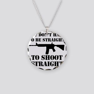 Straight2 Necklace Circle Charm