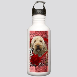 Valentine_Red_Rose_Gol Stainless Water Bottle 1.0L
