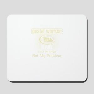 Retired Postal Worker Mousepad