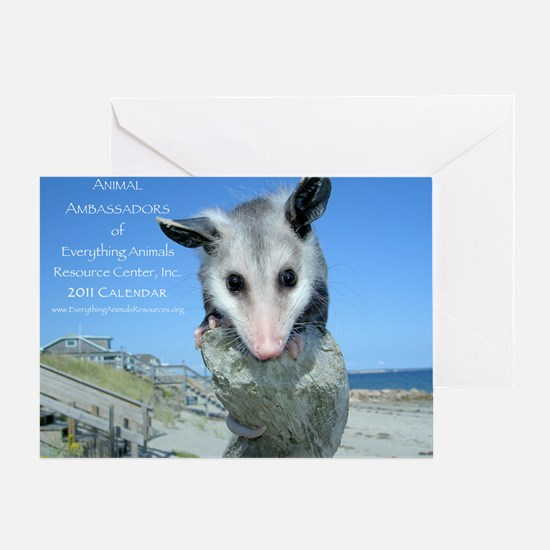 Everything Animals calendar cover Greeting Card