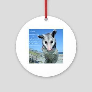 Everything Animals calendar cover Round Ornament
