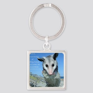 Everything Animals calendar cover Square Keychain