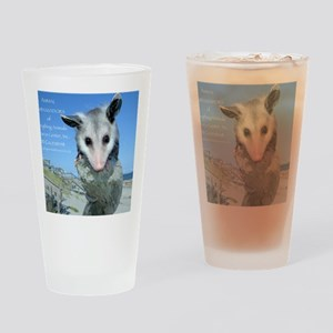 Everything Animals calendar cover Drinking Glass