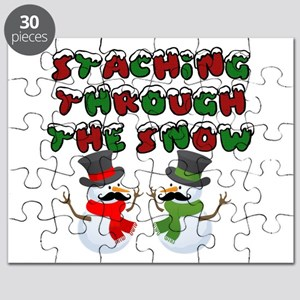 Staching through the snow Puzzle