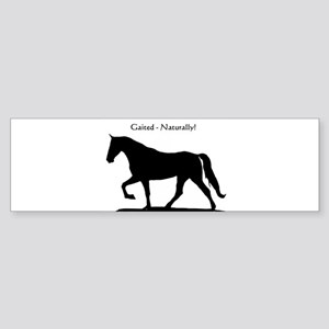 Gaited Horse Bumper Sticker