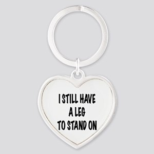 I Still Have a Leg to Stand On , t shirt Keychains